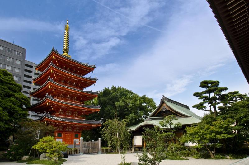tochoji temple hakata