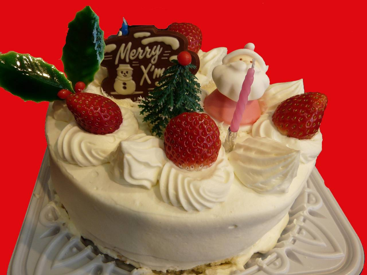 christmas cake giapponese