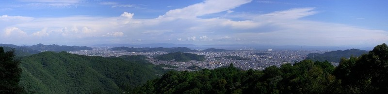 himeji view from mount shosha san