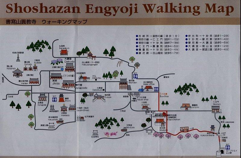 mappa map engyoji temple mount shosha san himeji