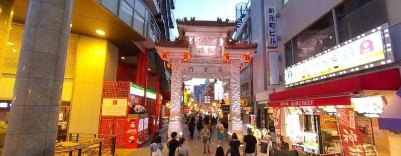 kobe chinatown nankinmachi east gate