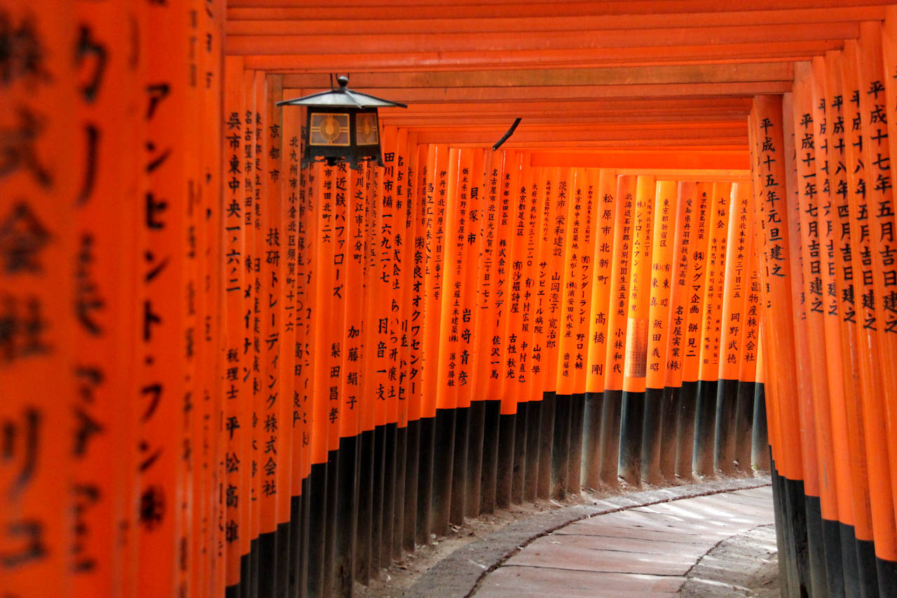 Kyoto travel guide area by area: the Fushimi Inari Shrine - youinJapan.net