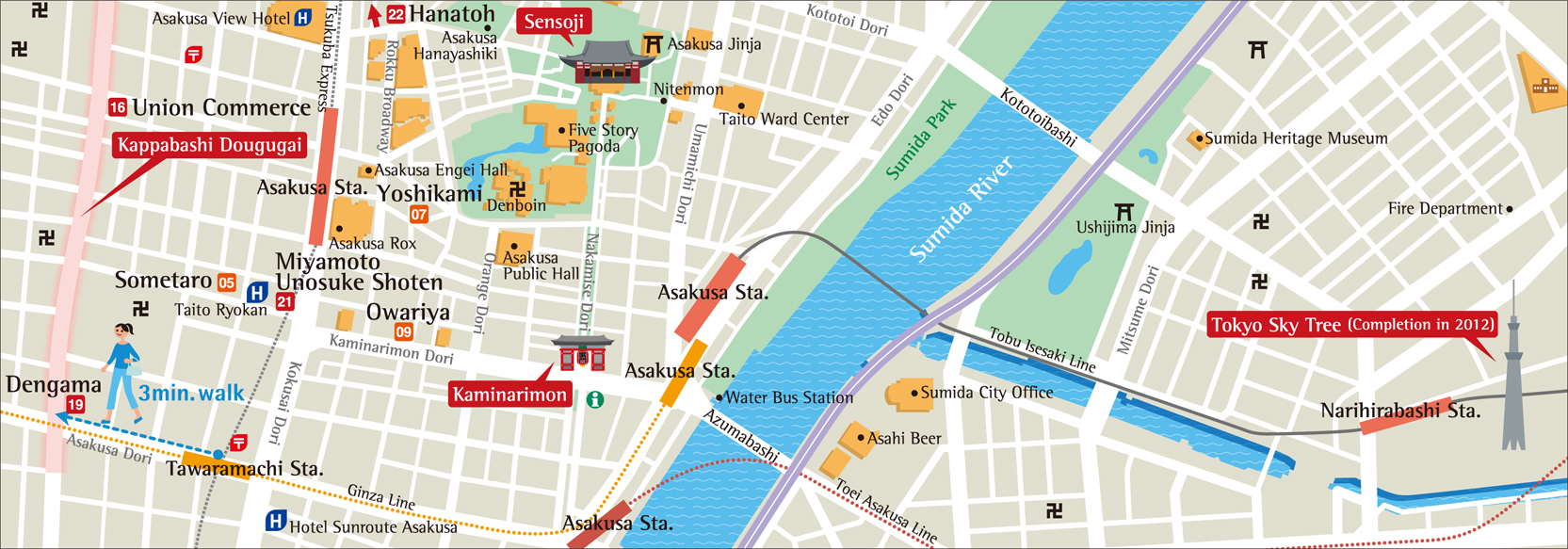 Download Tokyo maps youinJapannet