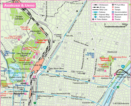 Download Tokyo Maps YouinJapannet - Japan map download pdf