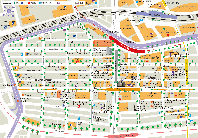 Download Tokyo maps youinJapannet