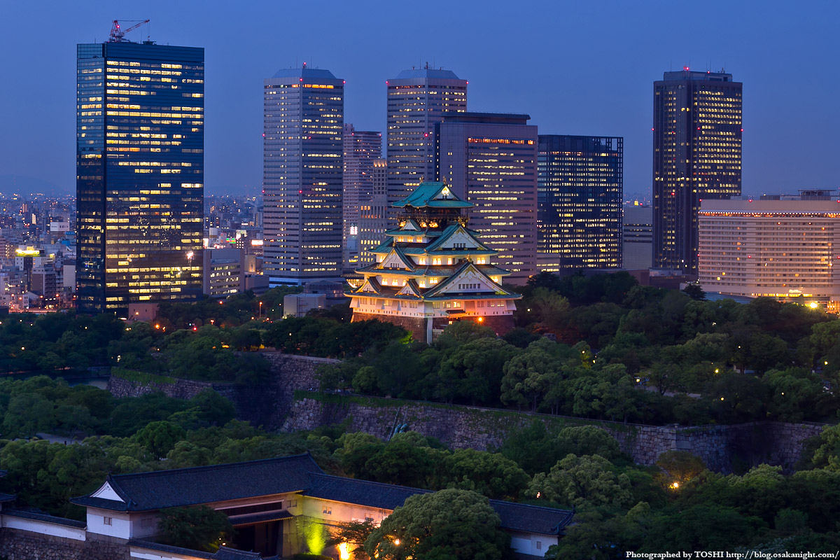 Osaka travel guide area by area: Osaka Castle Park ...