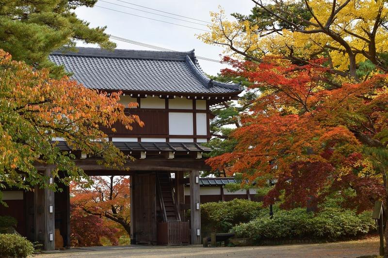 senshu park in autunno ad akita