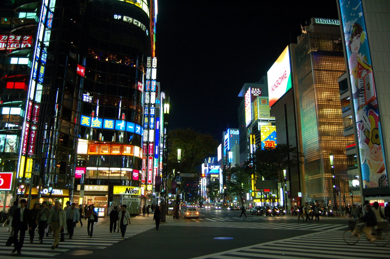 Tokyo travel guide area by area Ginza youinJapannet