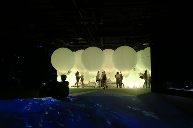 Digital Art Museum Teamlab Borderless, Weightless Forest