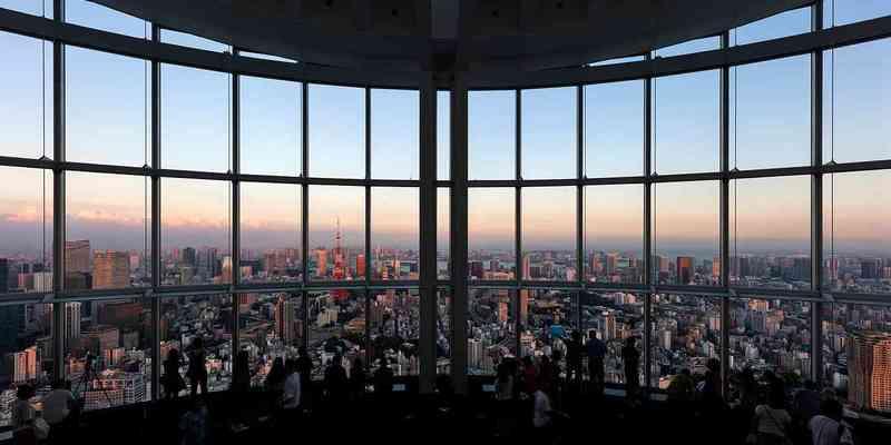 Roppongi hills tokyo city view